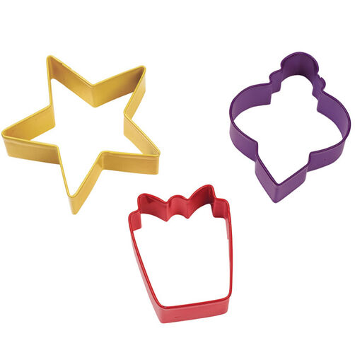 3 Pc. Holiday Cutter Set