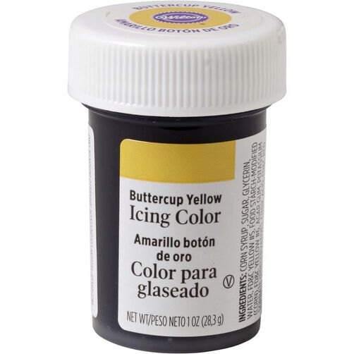 Buttercup Yellow Gel Food Coloring Icing Color | Wilton