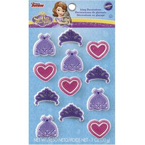Wilton Sofia the First Candy Decorations
