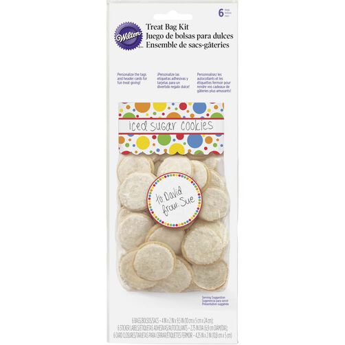 Primary Dots Treat Bag Kit