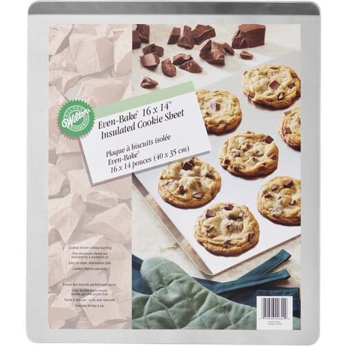 Even Bake 16 x 14 Insulated Cookie Sheet
