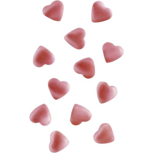 Edible Accents Pink Hearts