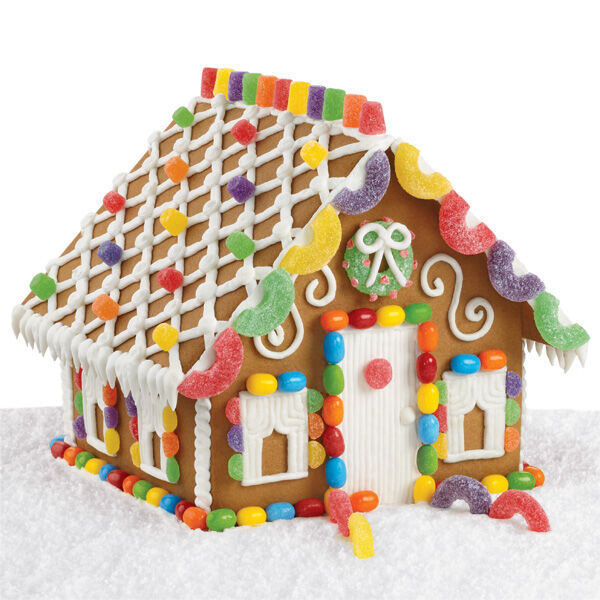 Attractive Sweet And Simple Gingerbread House | Wilton