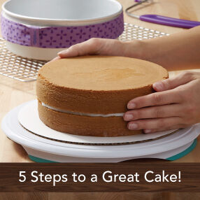 Five Steps To A Great Cake