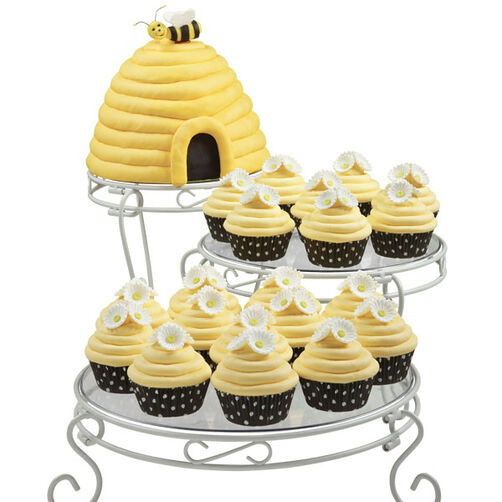 Bee-utiful Blossoms Summer Cupcakes and Cake