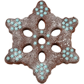 One Sweet Snowflake Brownie