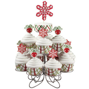 Classic Cupcakes for Christmas