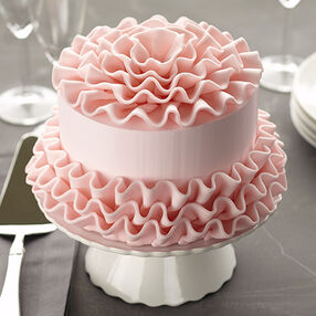 Candy Frills Cake