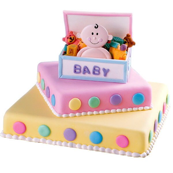 Ordinary Wilton Baby Shower Cakes Part - 7: Toy Box Tot Cake