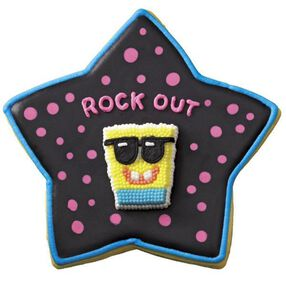 SpongeBob Rock Star Cookies