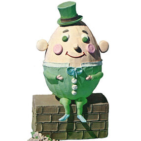 Humpty Dumpty Sat on a Wall Cake