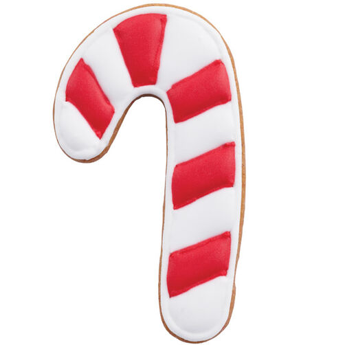 Cheerful Candy Cane Cookie