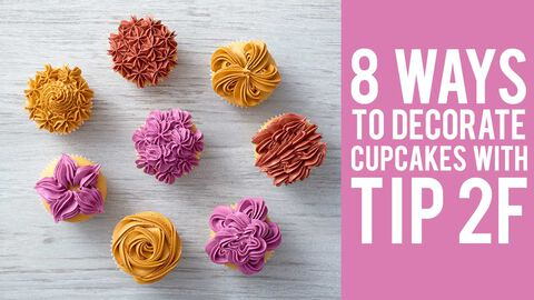 Eight Ways to Decorate with Tip 2F