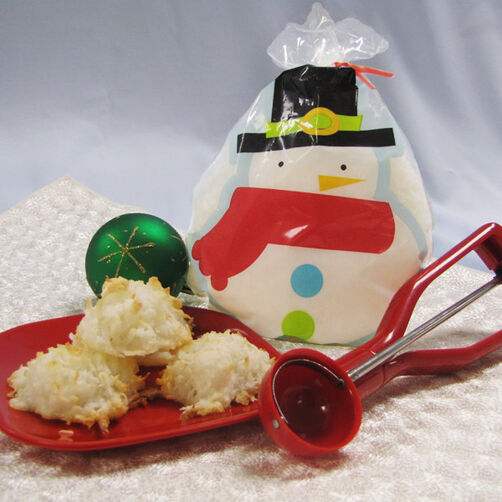 Coconut Macaroons in a Treat Bag