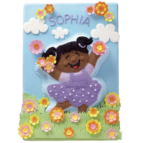 Frolic in the Flowers Cake