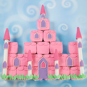 Enchanted Castle Cupcakes Scene