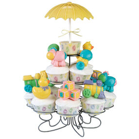 Toys Abound Baby Shower Cupcakes
