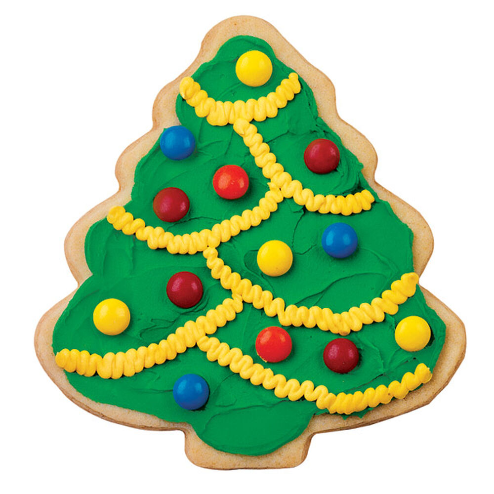 Christmas Tree Decorated Cookies: Decorate This Tree Cookie