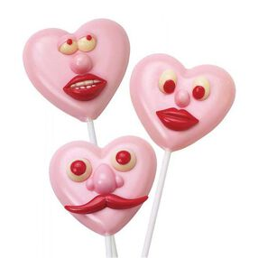 Facial Expressions Candy Pops