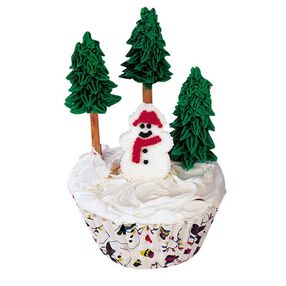 Wintery Woods Cupcakes