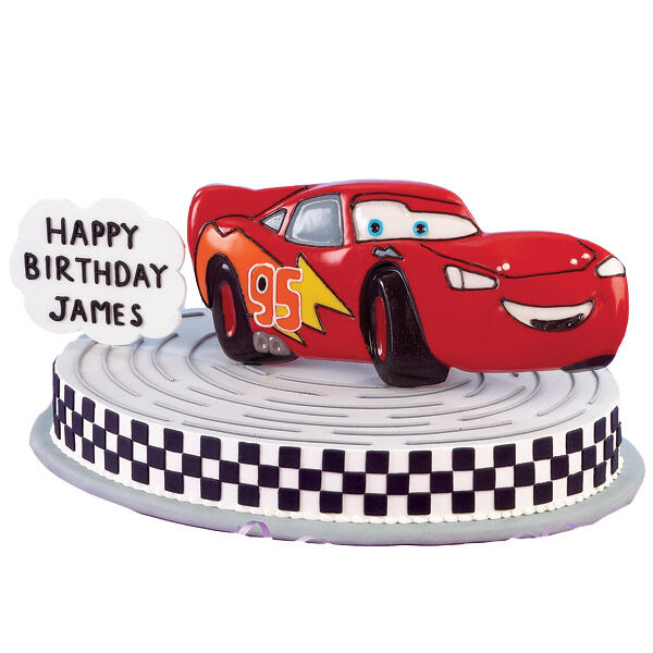 Lightning McQueen Cars Cake Pan Wilton
