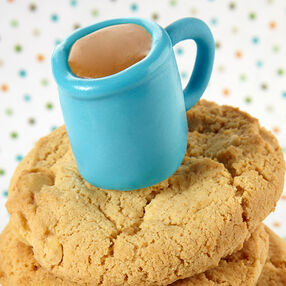 Candy-Dipped Coffee Mug Marshmallow Treats