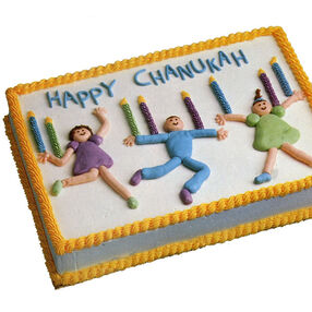 The Joy of Chanukah Cake