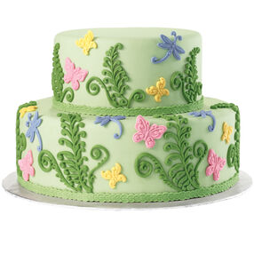 Butterflies Take Flight Cake