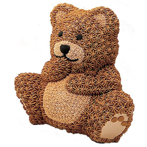 Stand Up Cuddly Bear Cake Wilton