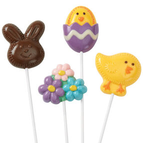 Easter Lollipop Friends and Flowers