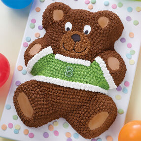 Teddy's Dressed to Party Cake