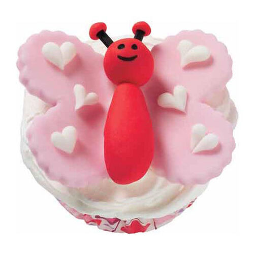Not Shy Butterfly Cupcakes