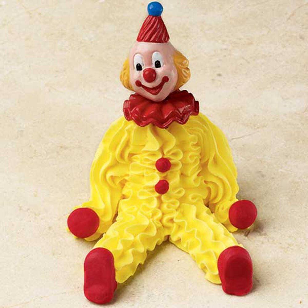 how to make a fondant clown