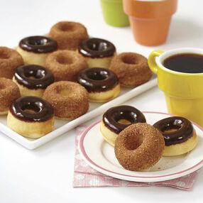 Wilton Baked Mini Cake Doughnut Recipe