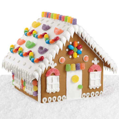 Cozy Candy Gingerbread House