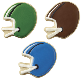 Football Helmet Cookies