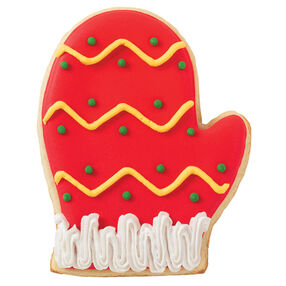Holiday Zigzags Cookie