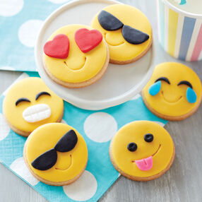 Fun Emoji Cookies