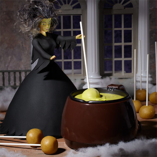 Trouble's Brewing Witch Cake