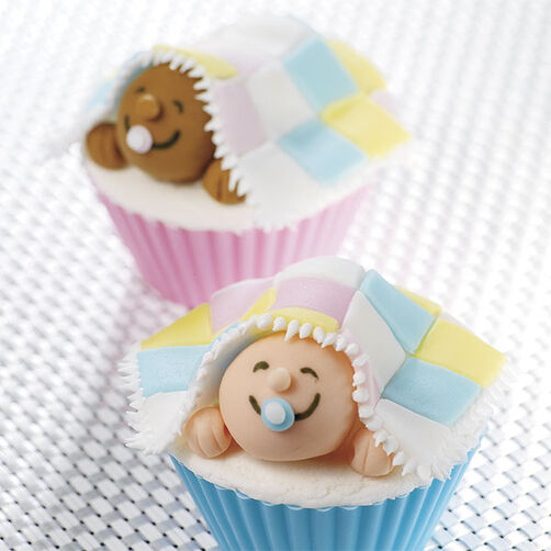 Little peepers baby cupcakes wilton - Wilton baby shower favors ...