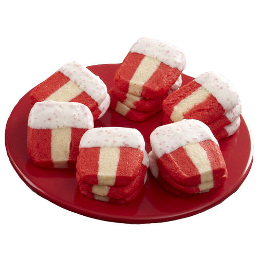 Peppermint Ribbon Cookies