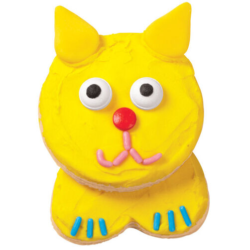 Kuddly Kitty Cookies