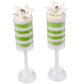 Easter Lilies & Layers Treat Pops