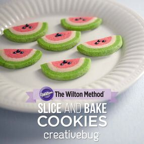 The Wilton Method: Slice and Bake Cookies