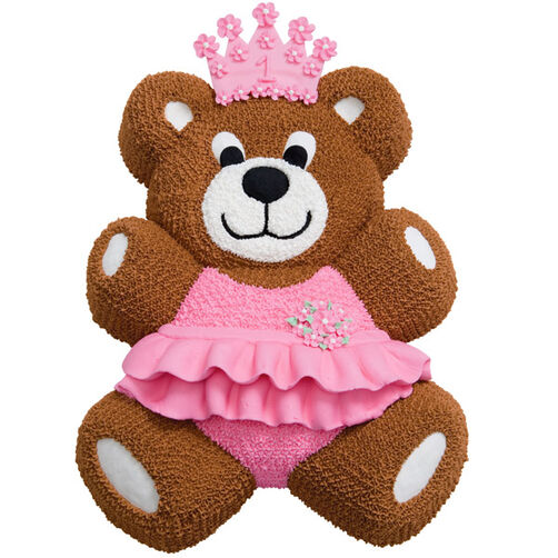 Teddy In A Tutu Cake Wilton