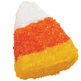 Sparkling Candy Corn Mini Cakes