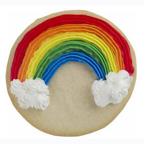 Rainbow Bright Cookies