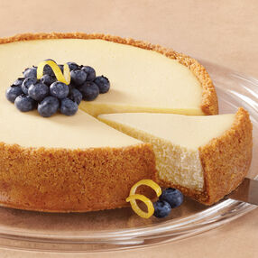 Golden Lemon Cheesecake
