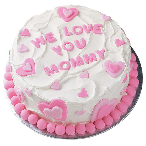 I Love You Mommy Cake