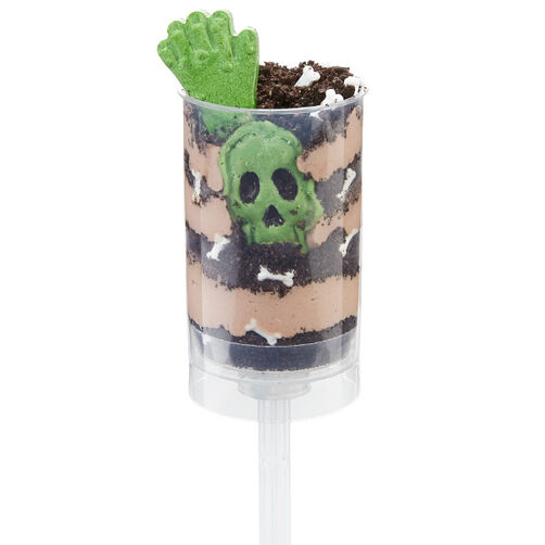 Skeleton Candy & Dirt Cookie Treat Pops